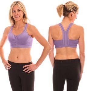 c401b60295961 Handful y-back sports bra lavender